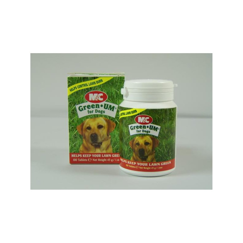Green-UM Tablets for Dogs - Pot of 100