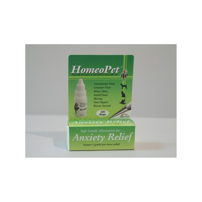 HomeoPet Anxiety Relief Homeopathic Remedy - 15ml