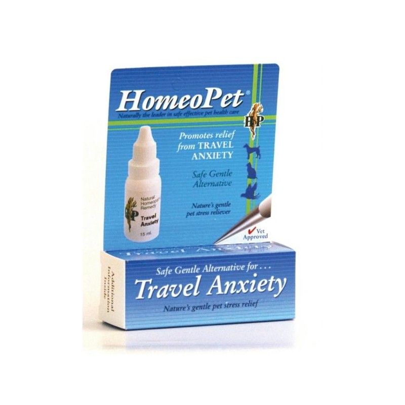 HomeoPet Anxiety Travel Homeopathic Remedy - 15ml