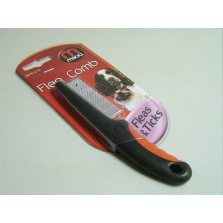 Mikki - Small Animal Flea Comb Soft Grip