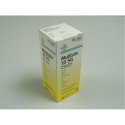 Multistix 10 SG Dipstick Urine Test - Pack of 100