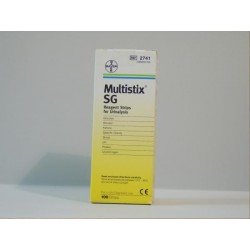 Multistix SG Dipstick Urine Test - Pack of 100