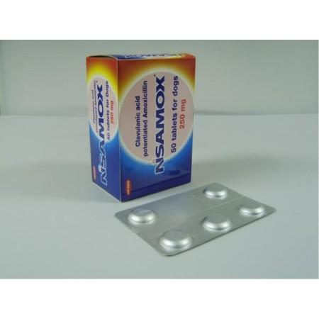 Nisamox 250mg Tablet - per Tablet