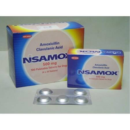 Nisamox 500mg Tablet - per Tablet
