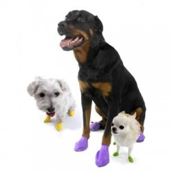 Pawz Disposable Rubber Dog Boots - X Small