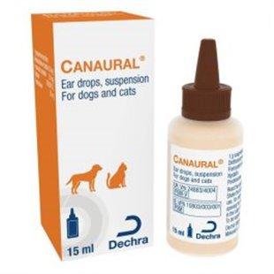 Canaural Ear Drops for Dogs - Canaural Ear Drops UK Cheaper Pet Medication
