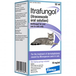 Itrafungol - Itrafungol for Cats with Ringworm - UK Online Pet Dispensary