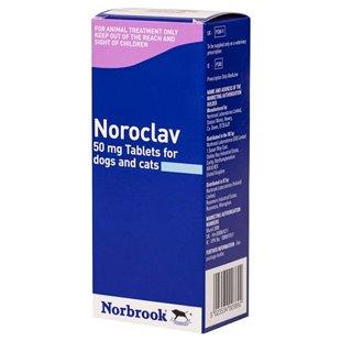 Noroclav Tablets - Noroclav for Dogs & Cats - UK Pet Prescription Medication