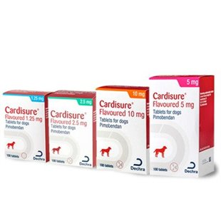 Cardisure Tablets - Buy 1.25mg, 5mg & Cardisure 10mg for Dogs at Vet Dispense, UK
