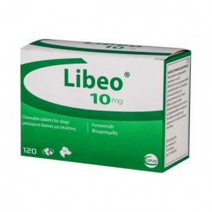 Libeo for Dogs - 10mg and 40mg Libeo Tablets Frusemide