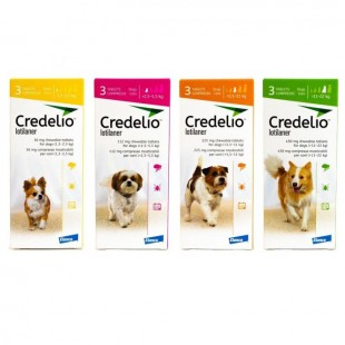 Credelio Tablets for Dogs & Cats - Chewable Credelio Tablets